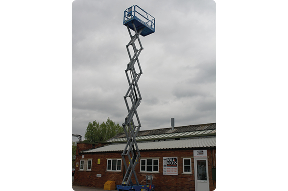 The 4047 Electric Scissor Lift from Bella Access