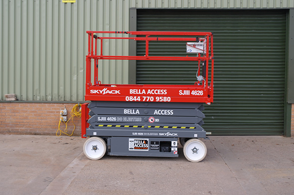 4626 Electric Scissor Lift from Bella Access