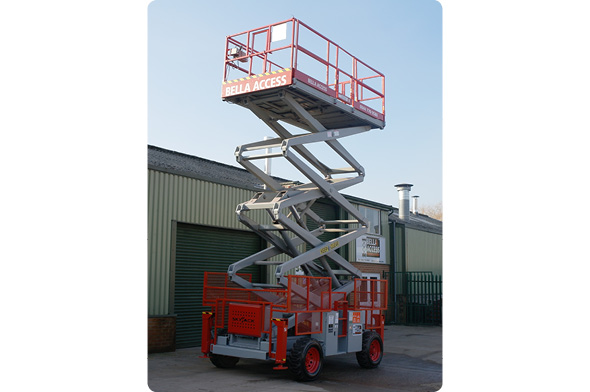 8841D Diesel Scissor Lifts from Bella Access