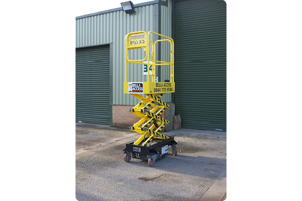 Boss X3 Electric Scissor Lift from Bella Access