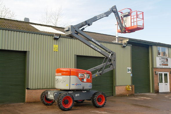 IPAF Scissor & Boom Lift Demonstrator Training Courses from Bella Access