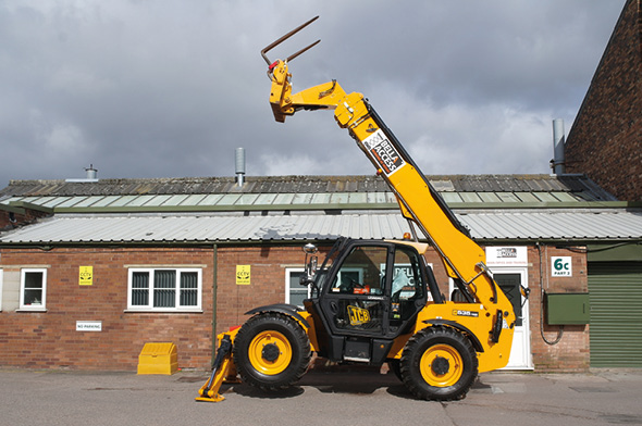TH125 Telehandlers from Bella Access